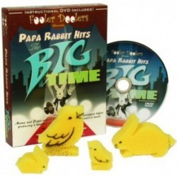 Papa Rabbit Hits the Big Time (with DVD)