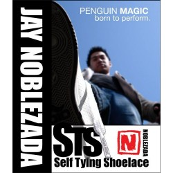 Self Tying Shoelace by Jay Noblezada (DVD Included)