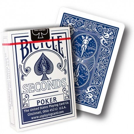 ΤΡΑΠΟΥΛΑ Bicycle Deck - Seconds Edition (Blue)