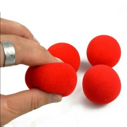 3 Magic soft Sponge Balls 4.5cm