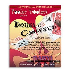 Double Crossed (with DVD) by Daryl - Signed