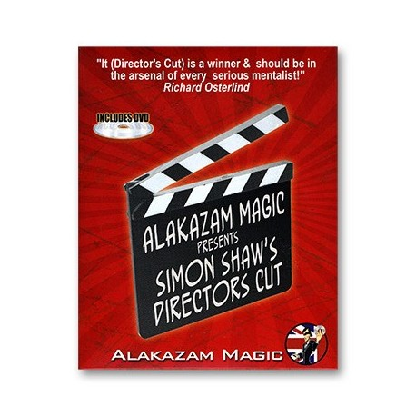 Director's Cut (Gimmicks and Online Instructions) by Simon Shaw