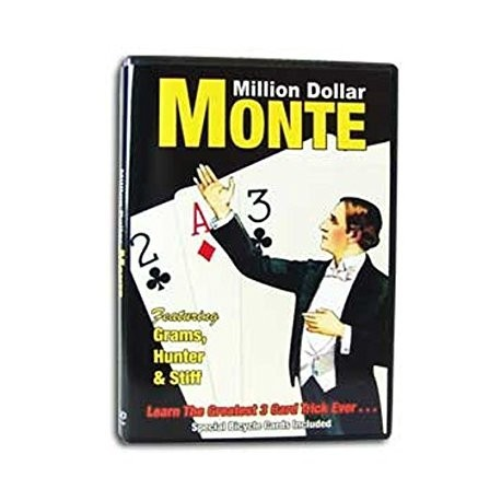 Million Dollar Monte DVD with Rudy Hunter