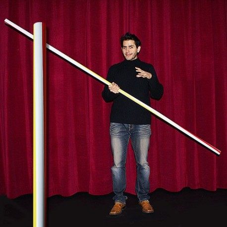 Appearing pole - Straw