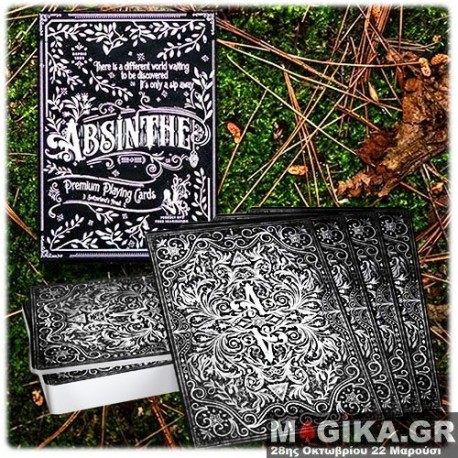 Absinthe Playing Cards