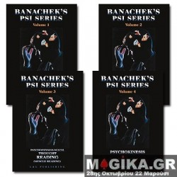 Banachek's Psi-Series - Vols. 1 - 4 4 DVD SET - 50% SALE