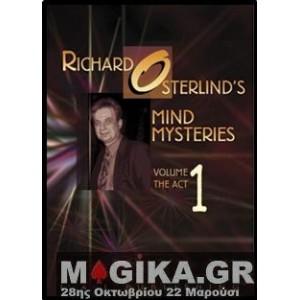 Mind Mysteries Vol 1 (The Act) by Richard Osterlind
