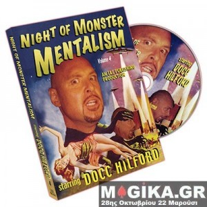 Night Of Monster Mentalism - Volume 4 by Docc Hilford