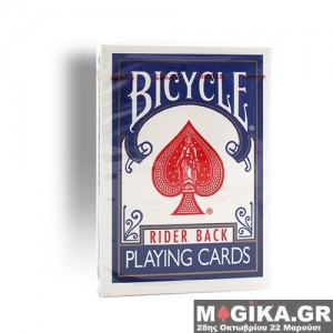 Bicycle - Poker deck - rider back - Old case blue back