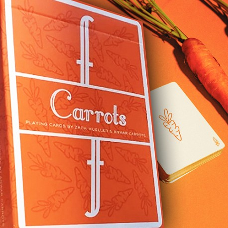 Fontaine Carrots Edition Playing Cards Very Limited Edition