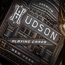Hudson Playing Cards Black