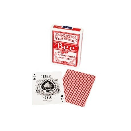 Bee - Poker size (Red)