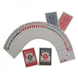 Bicycle - Poker size jumbo index