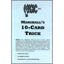 Marshall's Ten Card Trick