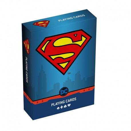 DC Super Heroes - Superman Playing Cards