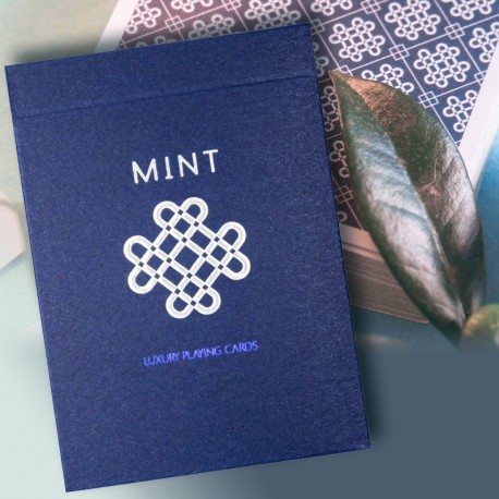 BLUEBERRY MINT Playing cards (ΣΗΜΑΔΕΜΕΝΗ) BLUEBERRY MINT Playing cards (ΣΗΜΑΔΕΜΕΝΗ)