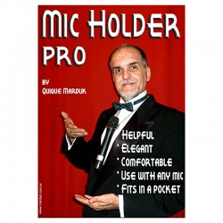 Mic Holder Pro (Chrome) by Quique Marduk