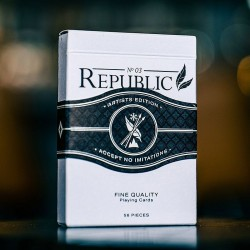 Black Republics Deck - Artist Edition (deck black)