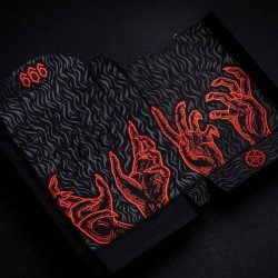 The 666 Playing Cards - Red