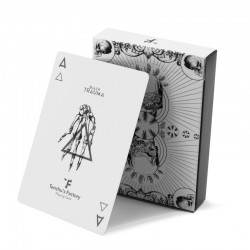 Trauma White Playing Cards