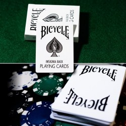 Bicycle - Insignia Back - White