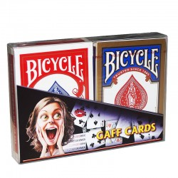 1 Bicycle + Gaff Cards