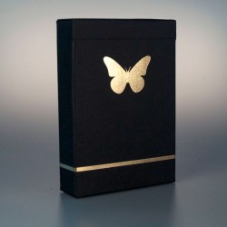 Butterfly Playing Cards Black - Silver (ΣΗΜΑΔΕΜΕΝΗ)