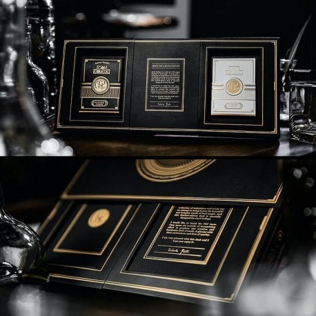 Card College The Deluxe Elegant Box Set (Black with Gilded Edge Playing Cards)