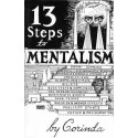 13 Steps to Mentalism by Corinda Book