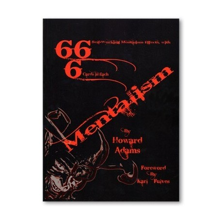 666 Mentalism by Howard Adams - Book