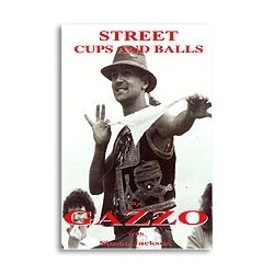 Street Cups and Balls by Gazzo (Book)