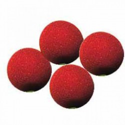 Sponge Balls Super Soft red 1.5 inches (4 balls) ΣΦΟΥΓΓΑΡΑΚΙΑ