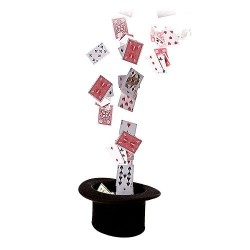 Card Fountain - With remote control