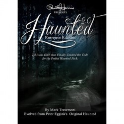 Haunted 2.0 by Peter Eggink and Mark Traversoni (DVD + Gimmick)