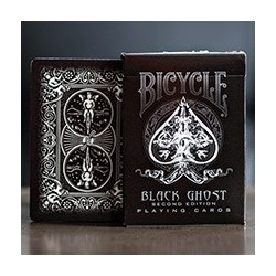 Bicycle Black Ghost Deck - 2nd Edition