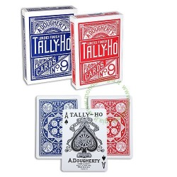 Tally Ho Original Fan Back - Poker Size